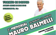 2° Torneo Memorial Mauro Balmelli